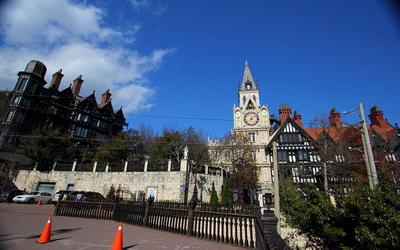 欧式建筑融合了哥德式,都铎式及巴洛克式建筑样式,打造古欧洲贵族庄园